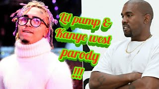 Lil Pump and Kanye West Roblox Cosplay