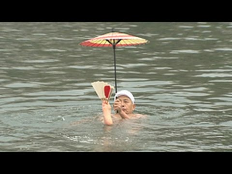 驚愕!日本泳法②(Nihon Eiho - Japanese Classical Swimming)