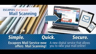 Escapees RV Club Mail Scanning Demo
