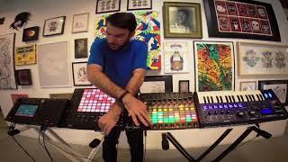RHINO - Within You (Feat. Elias) - Akai MPC Live, Ableton Push2 - Live Session 2017 Video