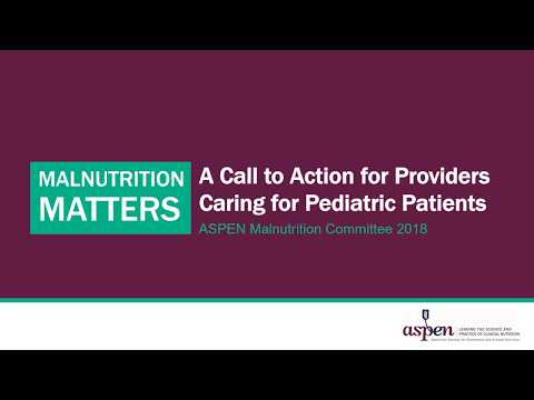 Malnutrition Matters for Pediatric Patients