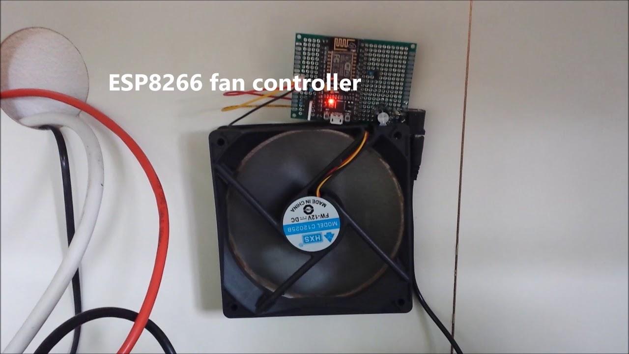 ESP8266 Wi-Fi Fan Controller - DZone IoT