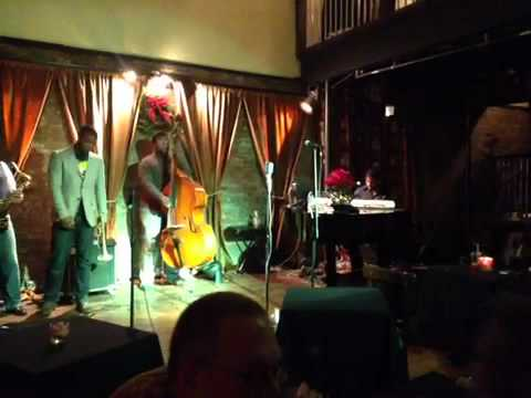 Maurice Brown @ Porter's Jazz Cafè.