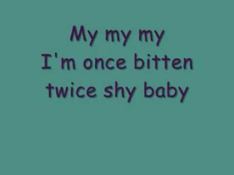 Great White - Once Bitten Twice Shy [lyrics]