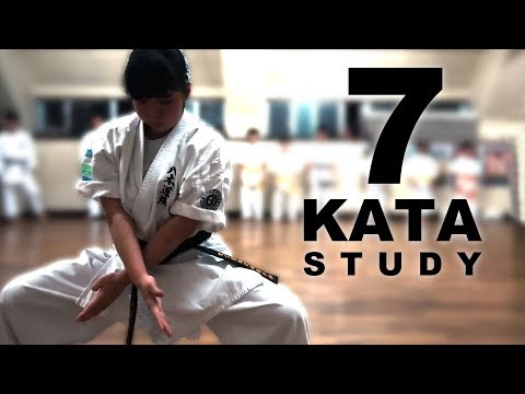 7 Kata Study   Goju-ryu   Meitetsu Yagi