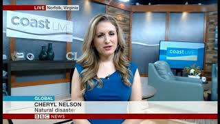 BBC World News - Cheryl Nelson - Hurricane Florence
