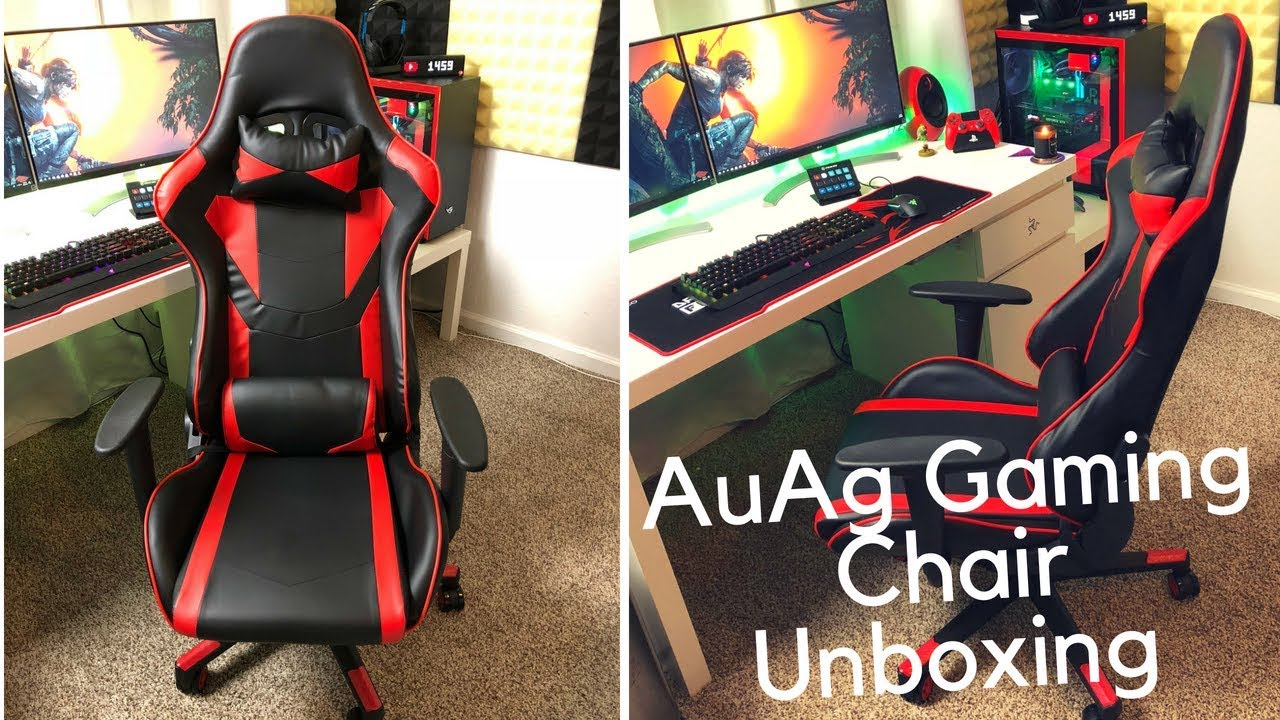 AUAG Gaming Chair Unboxing, Assembly, & First Impression.