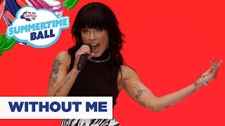 Download Halsey – 'Without Me'   Live at Capital's Summertime Ball 2019 Mp3 and Videos