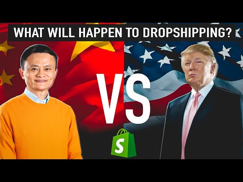 TRADE WAR | THIS IS HOW IT WILL EFFECT SHOPIFY DROPSHIPPING thumbnail