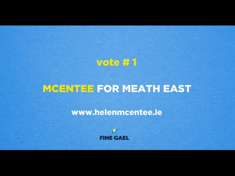 Helen McEntee Campaign Video; Education