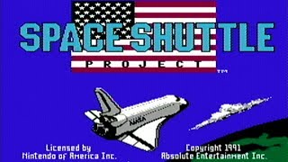 Space Shuttle Project - NES Gameplay