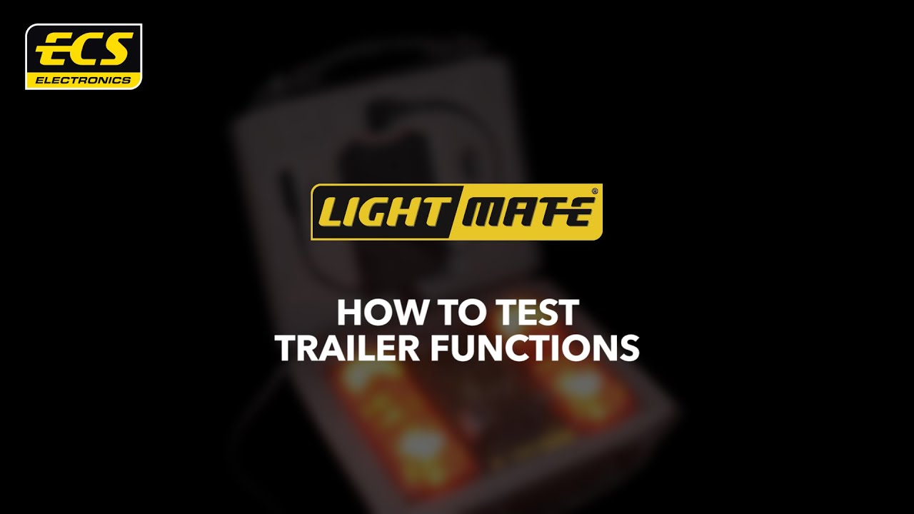 How To Test Trailer Functions - Ecs Electronics