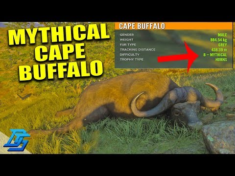 HUNTING THE LARGEST ANIMAL IN THE GAME! (MYTHICAL CAPE BUFFALO)  – TheHunter: Call of the Wild