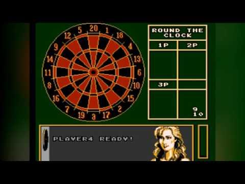 Magic Darts - NES Gameplay