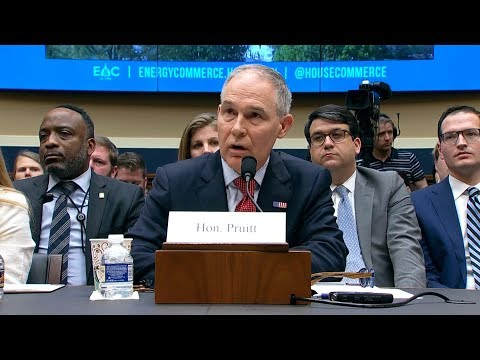 As EPA Scandals Mount, Scott Pruitt Is Radically Reshaping Agency to Aid Polluters and Big Business