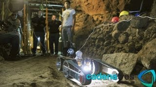 Robot explora las entrañas de Teotihuacán para revelar sus misterios