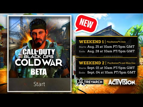 Call Of Duty Black Ops Cold War Beta Info Cod Bocw Reveal Next Week Bocw Not A Reboot New Story Youtube