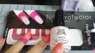 cuticle Defenders and Mitty Peel Off Tape dupe - Защита кутикулы и копия пленок с Aliexpress