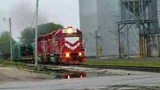 INRD freight with Bad Track