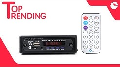 PRP Collections Bluetooth Mini Single DIN Car Stereo with aux,USB card & FM