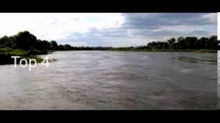 Top 10 Die längsten Flüsse der Welt (Deutschland)