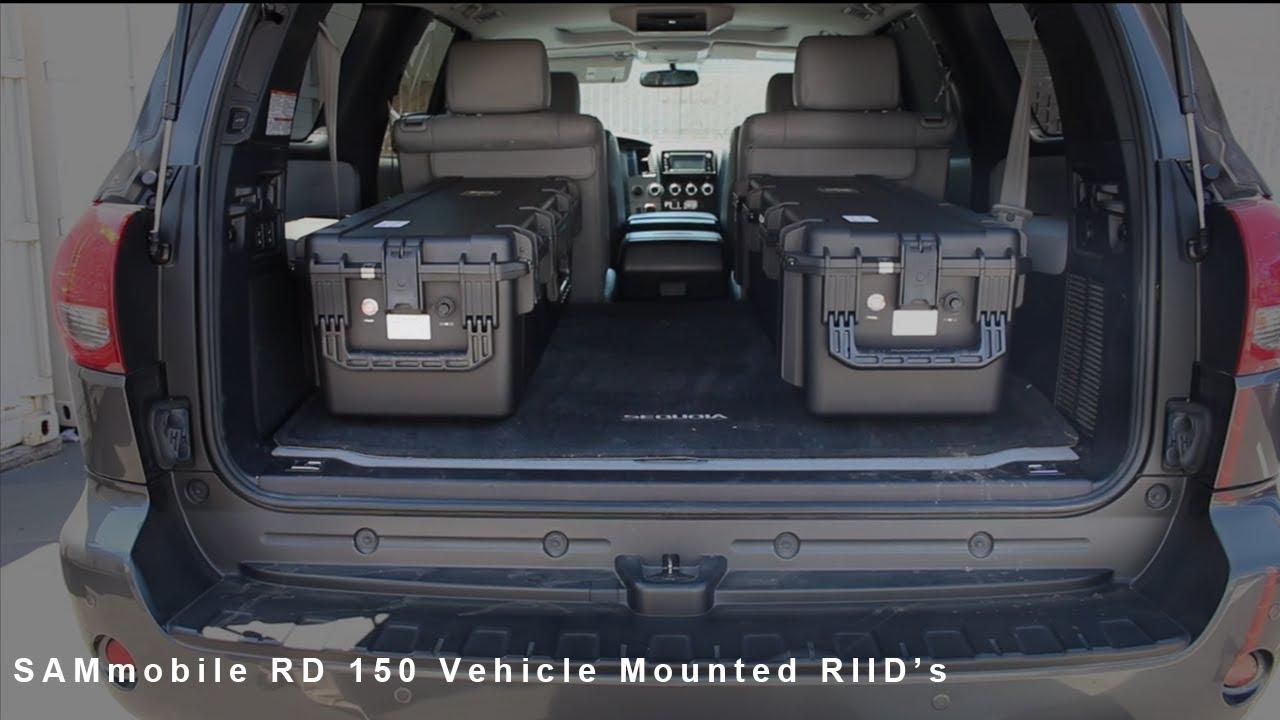 SAMmobile 150 | Vehicle Mounted Radiation Detection System