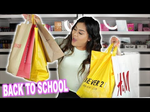 BACK TO SCHOOL CLOTHING HAUL 2019! *FOREVER 21, SHEIN, LAURA'S BOUTIQUE*