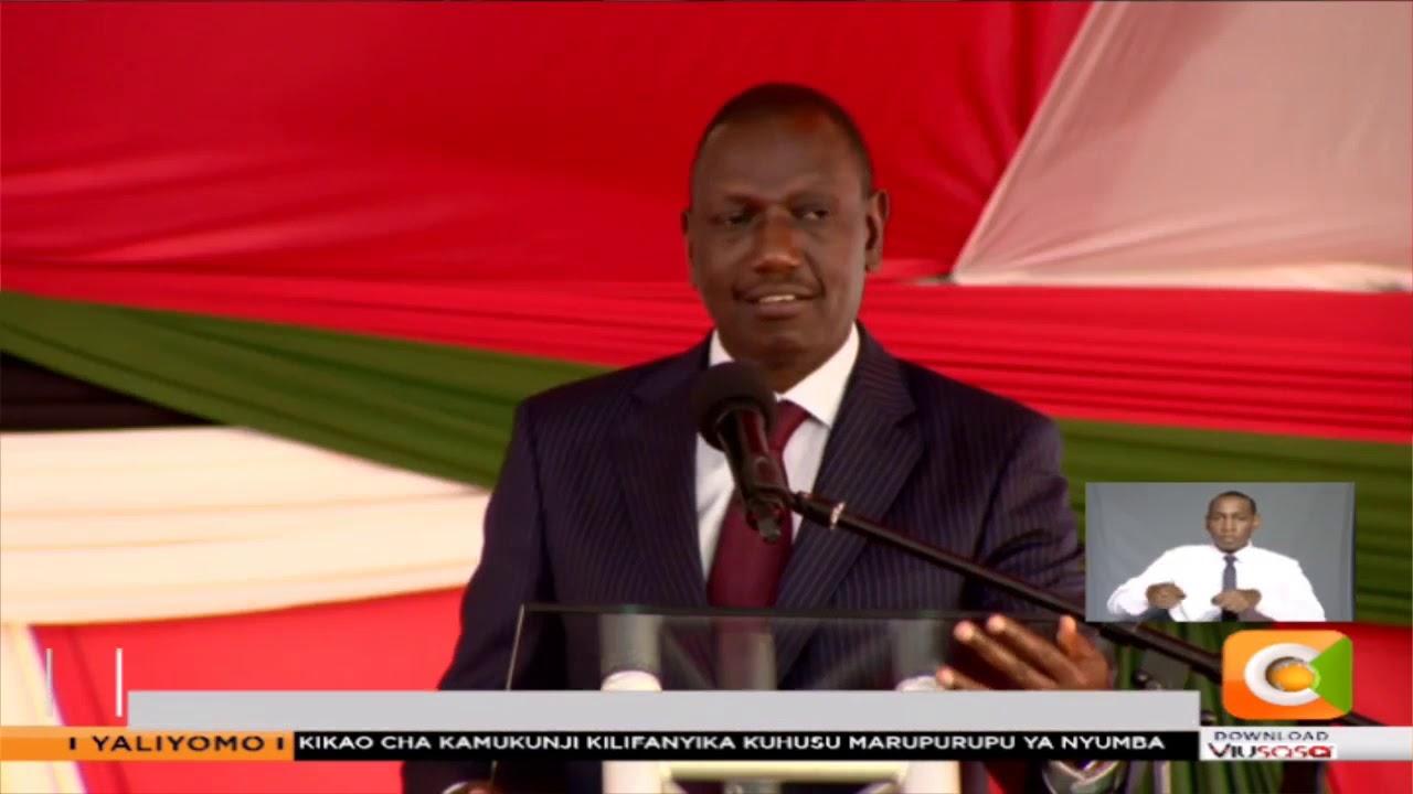 Albert Onyango alimuuzia Ruto viatu