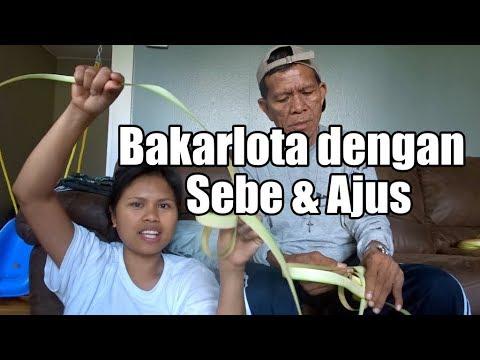 Bikin Ketupat Ala Orang Manado - Orang Sanger & Orang Siau Terdampar Di Amerika - Vlog Bahasa Manado