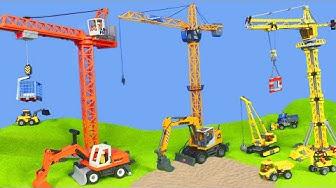 Bagger, Kran, Lastwagen, Spielzeugautos & Truck | RC Playmobil & Lego für Kinder auf Deutsch