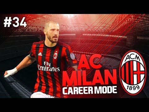 CHAMPIONS LEAGUE FINAL! AC MILAN CAREER MODE #34 (FIFA 17)