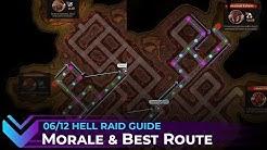 [Hell Raid] Morale Mechanics & Optimal Route Guide // Epic Seven