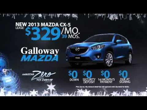 Sam Galloway Mazda - Zero To Drive Sales Event CX5 - YouTube