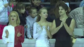 Russian Nationals 2015 Figure Skating   All on ice
