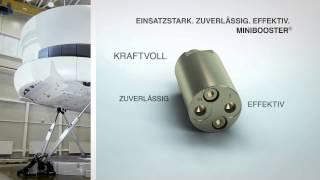 So funktionieren die hydraulischen miniBOOSTER® Druckverstärker