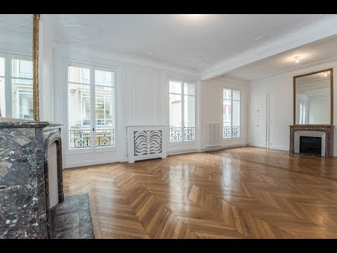 (Ref: 08058) 3-Bedroom unfurnished apartment for rent on Boulevard Haussmann (Paris 8th)