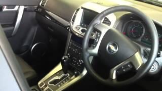 New Chevrolet Captiva 2.2 Vcdi LTZ 5Dr Auto [7 Seats] Estate -  Carbon flash black