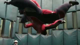Usa Las Vegas Indoor Skydiving Training Class Learning To Fly First Time Flyers Bodyflying