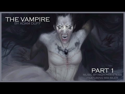 The Vampire Part 1 - Fantasy Painting by Adam Duff