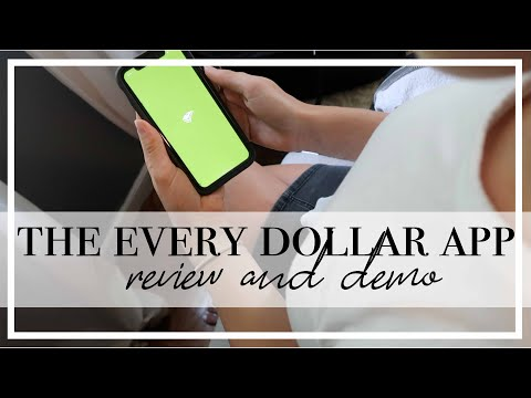 I TRIED THE DAVE RAMSEY EVERY DOLLAR APP FOR 1 MONTH | Review