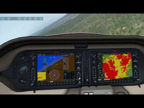 G1000 in the Columbia 400 of X-Plane 11.20