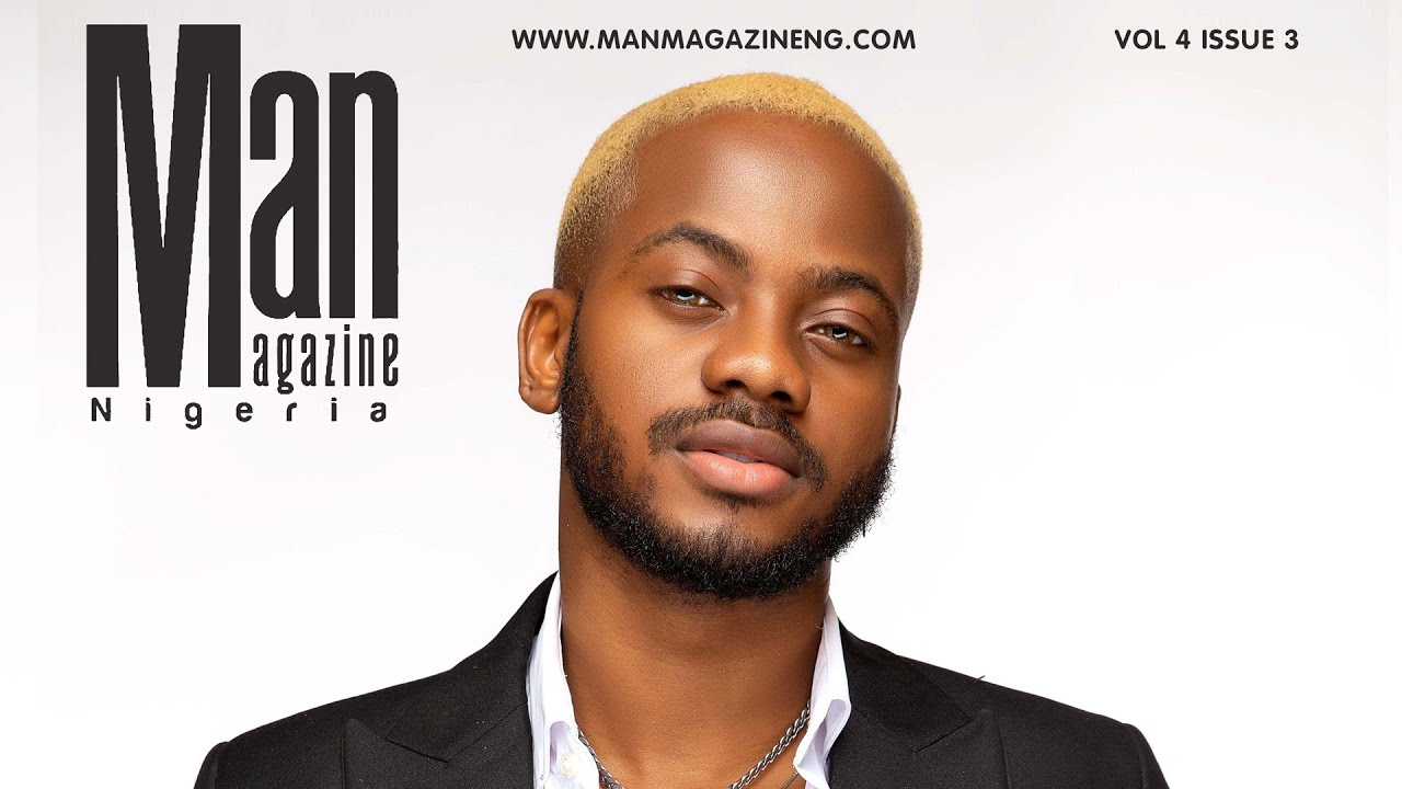 Korede Bello Covers Man Magazine Nigeria