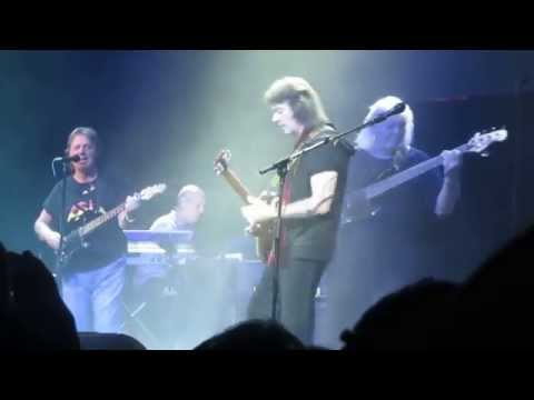 Hackett, Squire, Wetton - All Along the Watchtower - April 10, 2014 on the Cruise to the Edge