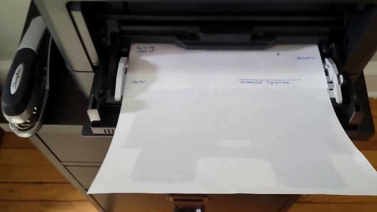 How to Print a Single Check from QuickBooks - YouTube