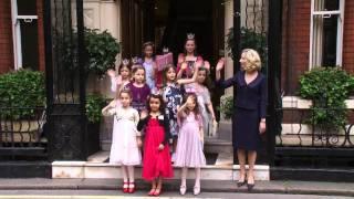 Jerramy hosts Princess tea party