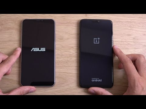 Asus Zenfone 5Z vs OnePlus 6 - Speed Test!
