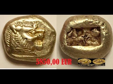 LydiaCoins Pers Sikkeleri Altın Gümüş Bronz Paralar