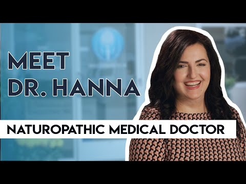 Meet Dr. Hanna, A Naturopathic Medical Doctor at Personalized Regenerative Medicine.