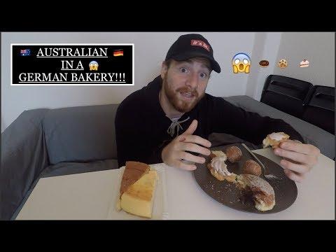 AUSTRALIAN REACTS to GERMAN BAKERY in DRESDEN!