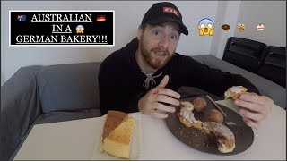 AUSTRALIAN REACTS to GERMAN BAKERY in DRESDEN!